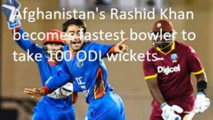 Fastest bowler to take 100 ODI wickets
