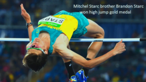 Brandon Starc won high jump gold medal