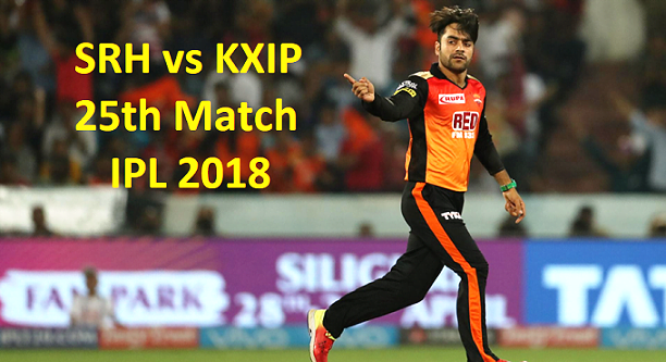 SRH vs KXIP 25th Match IPL 2018 Highlights