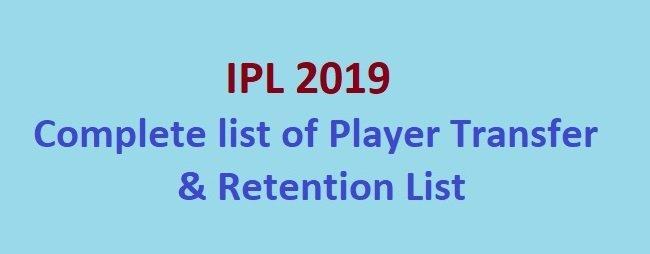 ipl 2019 auction players list